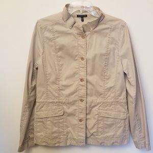 Eileen Fisher khaki Jacket